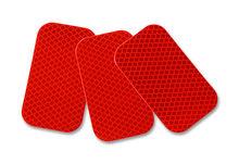 El cuerpo del coche pegatinas, etiqueta engomada del coche, reflex reflector, de color rojo rr-hipm9600-r