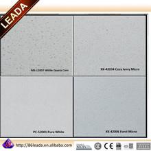 quartz compact stone, engineered glacier white artificial quartz stone