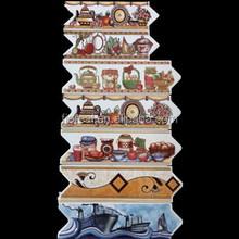 Algeria popular golden ceramic border tiles