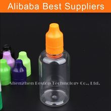Alibaba China Clear Plastic Dropper Bottle ,PET bottle , PET plastic dropper bottle 50ml for eliquid
