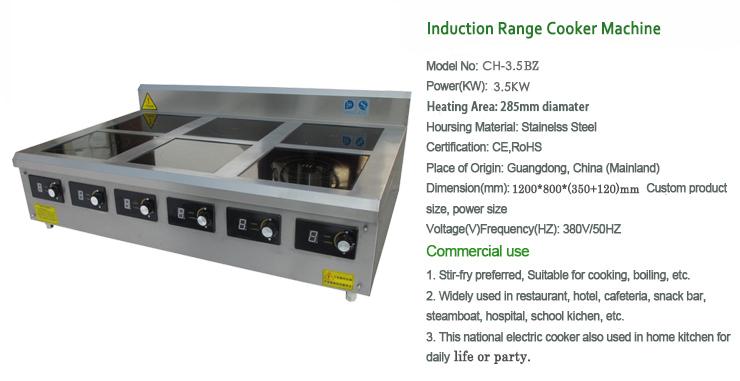 6 br leur lectrique plaque de cuisson plaque chauffante for Equipement restauration usage