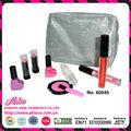 2015 añadido nuevo producto de maquillaje de belleza niños bolsas de cosméticos conjunto para la niña