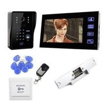 """Wired 7"""" Video Door Phone Intercom Doorbell Home Security CMOS Camera Monitor"""