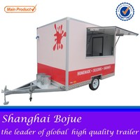 2015 HOT SALES BEST QUALITY steamed corn foodcart fruit foodcart for sale refrigerated cart