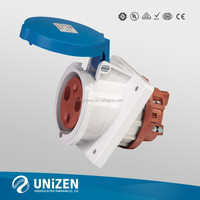 UZ movable power plant 63A industrial plug and socket waterproof IP67