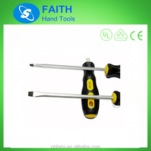 Double Color handle CRV hammer screwdriver