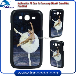Lancoda 2015 2d sublimation phone case for Samsung GALAXY Grand Neo Plus 9060 sublimation PC Case phone cover