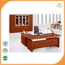 High quality executive name plate office desk used in office commercial furniture