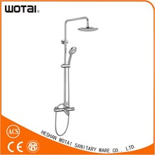 Factory price temperature control thermostatic bathtub shower mixer