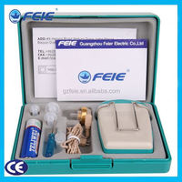 Inexpensive hearing aid analog portable sound amplifier with telephone mode