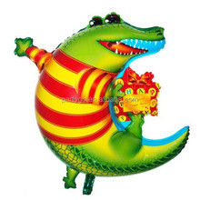 moon shape Crocodile Mylar Balloons&Helium Balloon 50*60cm