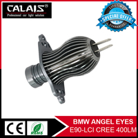 New design angel eyes b mw serie 1 hot sale canbus Led car work head lights lamps