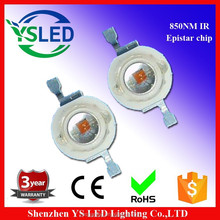 3 years warranty 3w led high power ir 850nm led diode(Epistar chip inside)