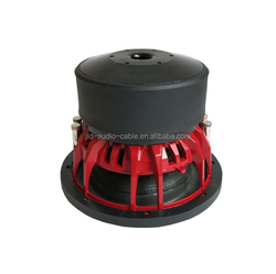 Made in China Subwoofer for cars China subwoofers with RMS 300w 10 inch car subwoofer