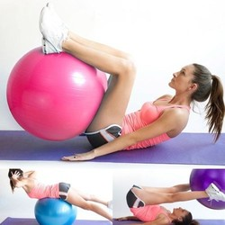 Fitness Exercise Gym Ball Yoga Core Ball Abdominal Back Leg