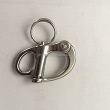 Stainless steel rotating spring shackle wholesale factory direct environmental fixed shackle chain shackle for paracord