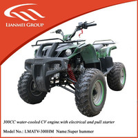 """New Products! 300cc cheap atv for sale with 10"""" tyre"""