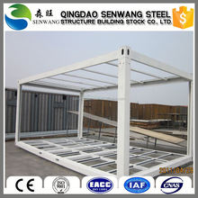 ecofriendly pu sandwich panel container house