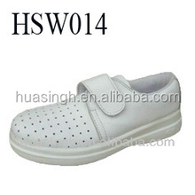 pull on style anti-static comfortable ESD clean room/medical white work shoes