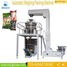 Fully automatic bag sweet potato flakes packing machine DS-420AZ