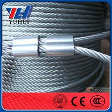 Alta resistencia galvanizado alambre de acero de la cuerda