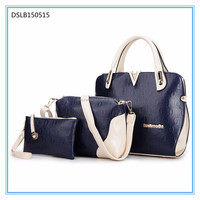 most popular items classical 3 in 1 woman fashion lady's tote bag