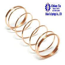 Rose gold stainless steel compression spring