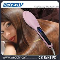 Wholesale Professional Hair Straightener Brush Hair Flat Iron Function