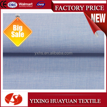 Mulinsen Textile Dyed Woven Poplin Indigo Dyed Cotton Fabric for Men's Pants