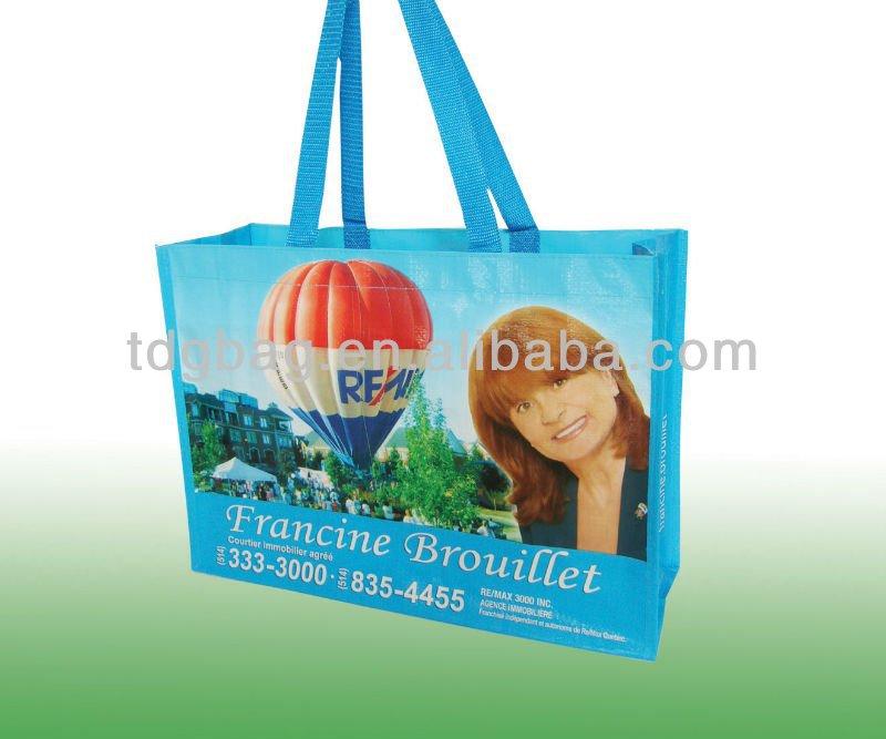 2014 fashional eco-friendly pp non woven reusable bag,reusable shopping bag