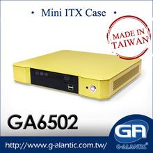 GA6502 mini-ITX Chasis para centro de medios