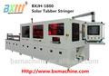 Solar automática celular Stringer / Solar ensamblaje del Panel de equipos de la línea