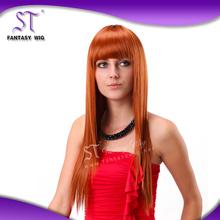 Factory wholesale lowest price half kinky straight wigs