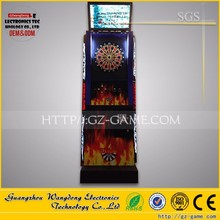 Hot sale coin operated game machine/electronic darts game machine