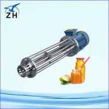 long service life continuous high shear homogenizer movable high shear dispersing emulsifying mixer
