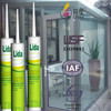 fast cure, one component, glass door weather transparent silicone sealant
