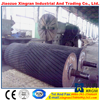Internetional Certificated rubber coated conveyor rollers rubber roller impact idler roller