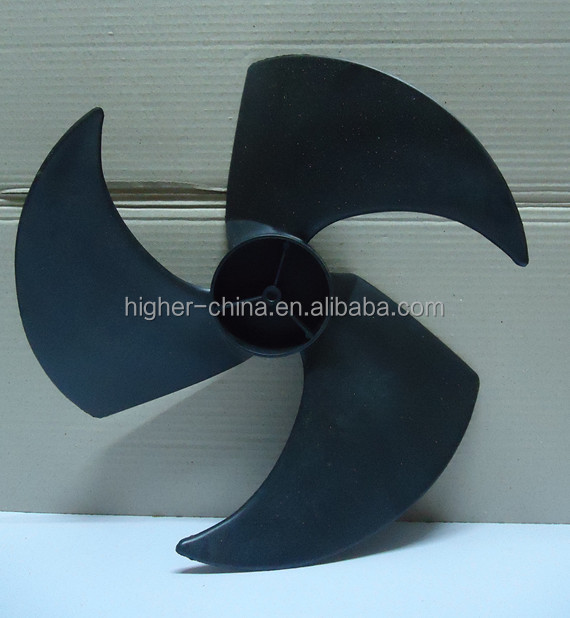 """16"""" axial flow fan blades for 1.5P air conditioner , mini motor fan blade"""