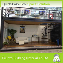 Movable Portable Tiny Hot Sale Prefabricated House with Furnitures