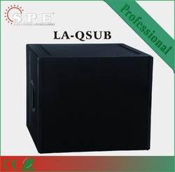 SPE Audio, Line array speakers, LA-QSUB 800W 18 inch speakers subwoofer