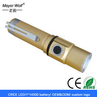 most powerful cree hunting rechargeable led mini torch