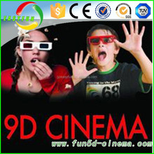 Holloween party 9d cinema and shopping mall entertainment 7d cinema