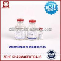 GMP calves/sheep/swine medicine 0.4% dexamethasone sodium injection