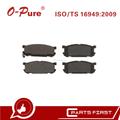 Pastillas De Freno D891 De China Fabricante Carro Partes Genuino Compatibles Para Mazda Miata