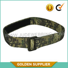 military camo belt with custom any camouflage pattern