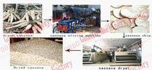 Multifunction cassava drying machine popular in oversea and home