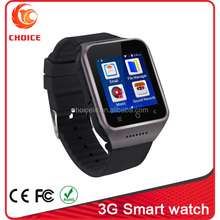1.54 inch Android 4.4 wifi 3g watch phone with touch watch faces and camera