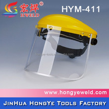 PVC protective cheap full welding face Shield HYM-411