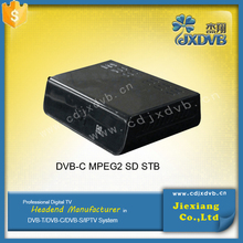 2015 blackbox dvb-c android+Cable Receiver StreamBox D1c set top box for singapore+DVB IPTV replace streambox c1