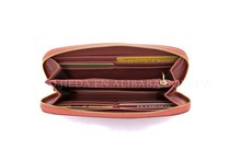 BELLUCY pink lady round edge leather string clutch bag